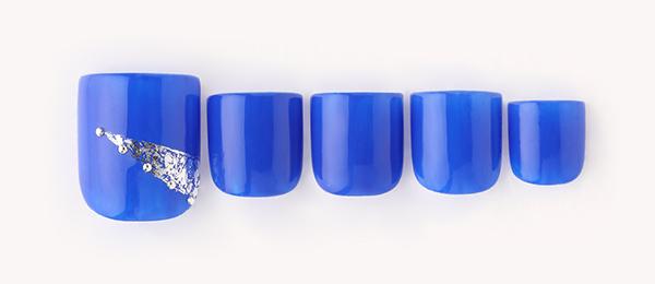 metallic Blue(星野 樹美) | ネイルサロンtricia(トリシア)表参道店