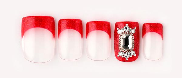 Shiny red nail(中西 優奈) | ネイルサロンtricia(トリシア)銀座店
