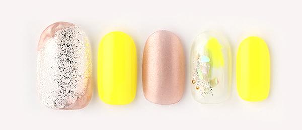 yellow × nuance(長谷川 夏織) | ネイルサロンtricia(トリシア)銀座店