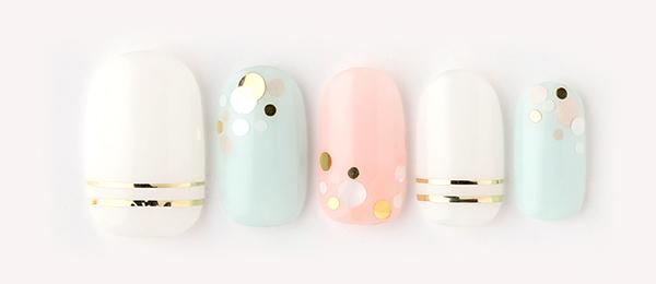 pastel× bubble blower(田中 恵子)   ネイルサロンtricia(トリシア)銀座店