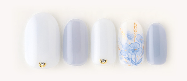 Blue petal(千葉 亜希子) | ネイルサロンtricia(トリシア)銀座店