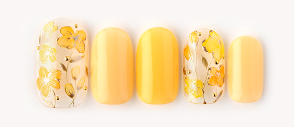 yellow flowers(島田 亜沙子) | ネイルサロンtricia(トリシア)表参道店