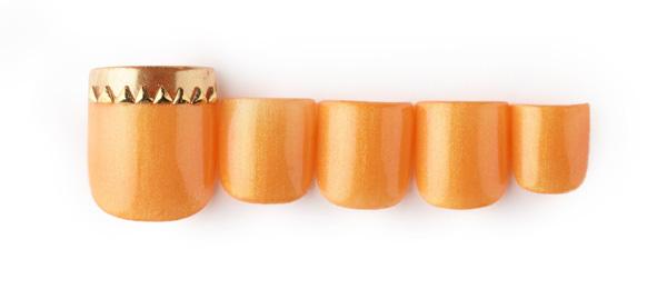 orange gold(島田 亜沙子) | ネイルサロンtricia(トリシア)銀座店