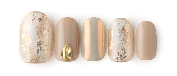 nuance beige nail(星野 樹美)   ネイルサロンtricia(トリシア)表参道店
