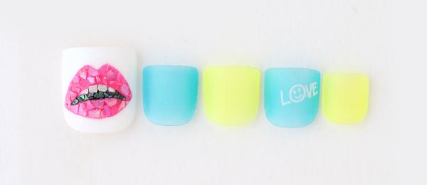 Pop lip pattern(井上 美由紀) | ネイルサロンtricia(トリシア)銀座店