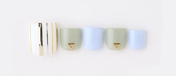 Multi stripe(勝島 里絵) | ネイルサロンtricia(トリシア)銀座店