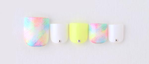 Neon & Multi color(tricia) | ネイルサロンtricia(トリシア)