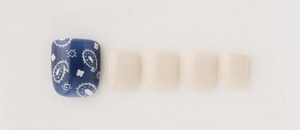 Chic paisley pattern(井上 美由紀) | ネイルサロンtricia(トリシア)銀座店