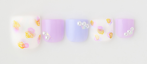 tricia's foot nail design No.180(平野 麻奈) | ネイルサロンtricia(トリシア)表参道店