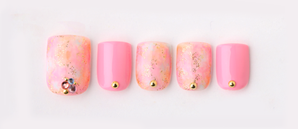 tie dye nail(tricia) | ネイルサロンtricia(トリシア)銀座店
