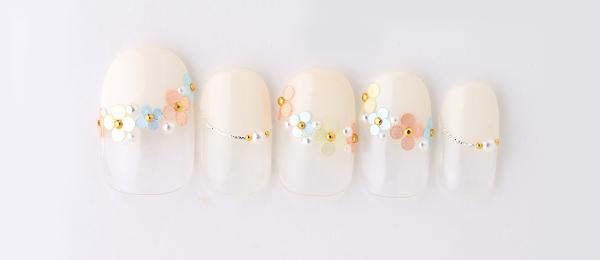Colorful flower(田中 恵子) | ネイルサロンtricia(トリシア)銀座店