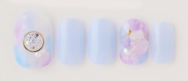 Gemstone × marble(tricia) | ネイルサロンtricia(トリシア)銀座店