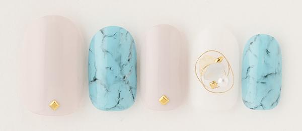 Turquoise stone(片桐 麻美) | ネイルサロンtricia(トリシア)表参道店