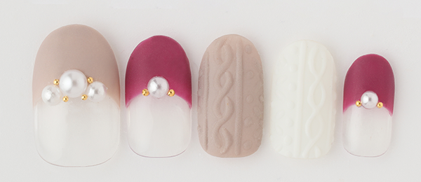 Knit × pearl(小松 奈美) | ネイルサロンtricia(トリシア)表参道店