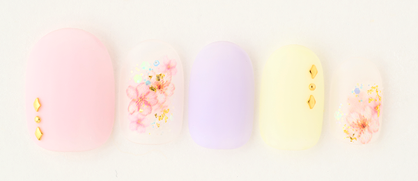 Cherry Blossoms×Pastel colors(田中 恵子) | ネイルサロンtricia(トリシア)銀座店