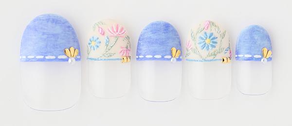 embroidery×denim (田中 恵子) | ネイルサロンtricia(トリシア)銀座店