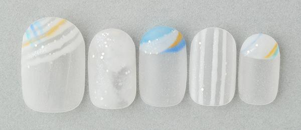 Cloudy glass(井上 美由紀) | ネイルサロンtricia(トリシア)銀座店